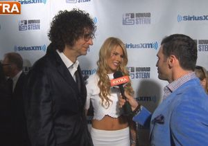 'Extra' Hangs Out at Howard Stern's 60th Birthday Party