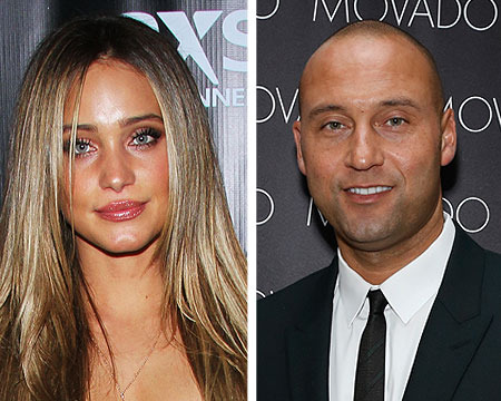 Sports Couples News: Hannah Davis and Derek Jeter Split; Jessica Szohr and…