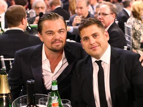 Leonardo DiCaprio and Jonah Hill Eye Olympic Drama