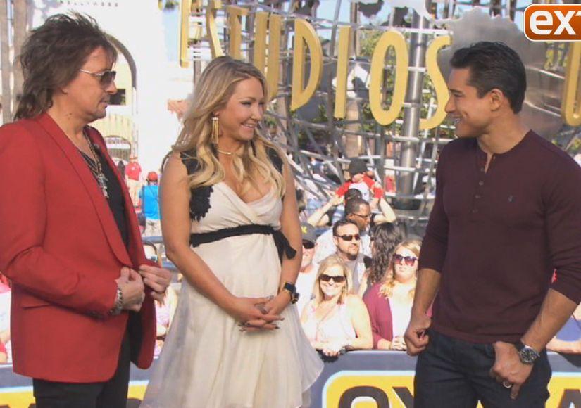 Exclusive! Rocker Richie Sambora and Designer Nikki Lund Show Off Their Sexy…