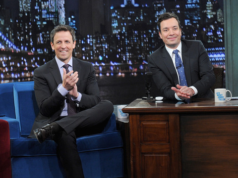 Jimmy Fallon's Advice to Seth Meyers: 'Be Patient'