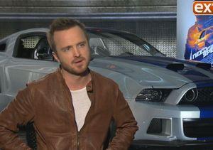 Aaron Paul Talks 'Need for Speed': Cars, Stunts, and Kissing Scenes