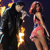 Rihanna Bumps and Grinds Onstage with Rumored BF Drake