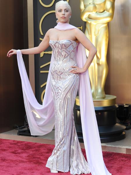 Lady Gaga\'s Pink Mermaid 2014 Oscar Gown… Love It or Hate It ...