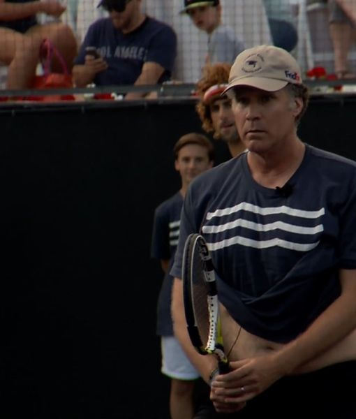 Will Ferrell and Kevin Spacey Face-Off in Epic Tennis Match