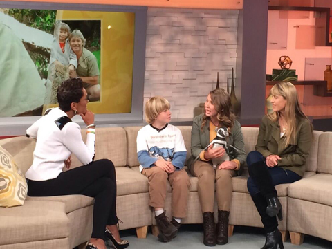 Video! Bindi Irwin and Little Brother Bob Are So Grown Up!