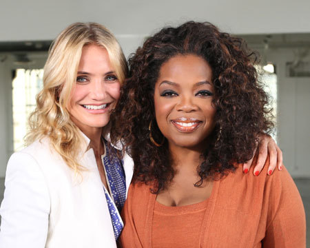 Cameron Diaz and Sharon Stone Talk with Oprah About Aging Gracefully