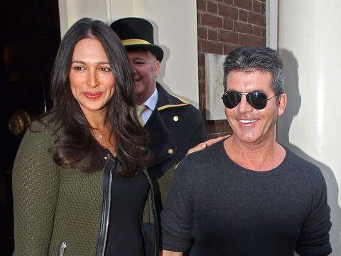 Simon Cowell and Lauren Silverman were seen in London at the press launch of…