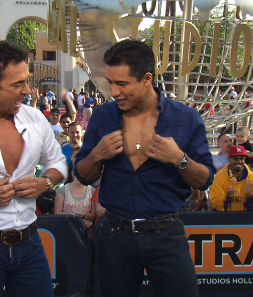 Bruno Tonioli and Mario Lopez Unbutton Their Shirts, Preview Season 18 of…