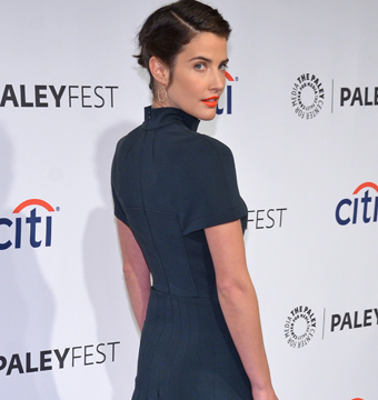"Cobie Smulders arrived to the PALEYFEST farewell celebration for ""How I Met…"