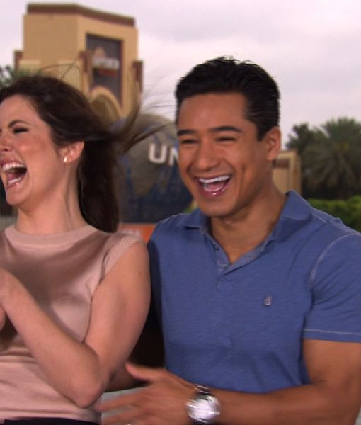 'Extra' Special! Mario Lopez Hosts from Universal Studios Orlando