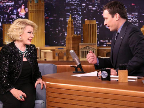 Joan Rivers Returns to 'Tonight Show' After 28-Year Ban!