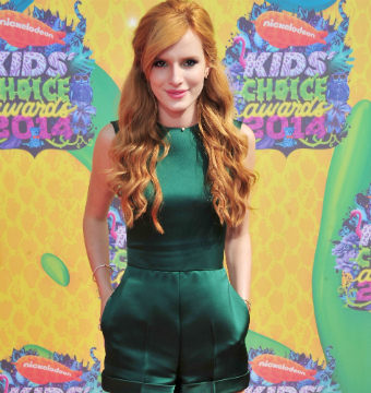 Bella Thorne hit the red carpet at Nickelodeon's Kids' Choice Awards in L.A.