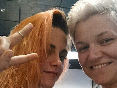 Kristen Stewart's Shocking Hair Makeover