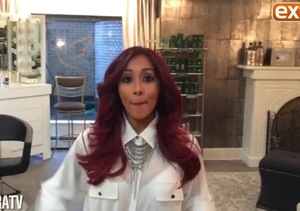 Nicole 'Snooki' Polizzi Talks 2nd Pregnancy Monday on 'Extra'