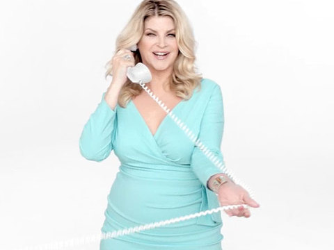 Video! Kirstie Alley Asks Jenny Craig for a Repeat Performance