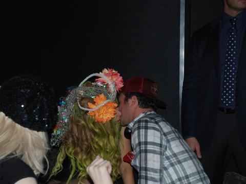 Lady Gaga kiss the out hotel new york George Wayne FIX