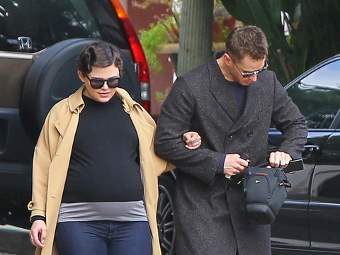 Ginnifer Goodwin Shows Off Baby Bump After Secret Wedding