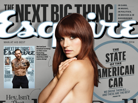 Lake Bell on Her Sexy Esquire Cover: 'It's Pretty Damn Cool'