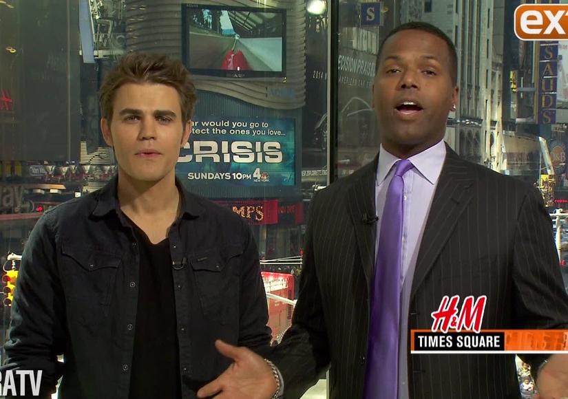 Paul Wesley Pulls Double Duty on 'Vampire Diaries'