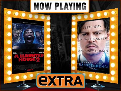 Now Playing Live Movie Reviews: 'Transcendence' vs. 'Haunted House 2'