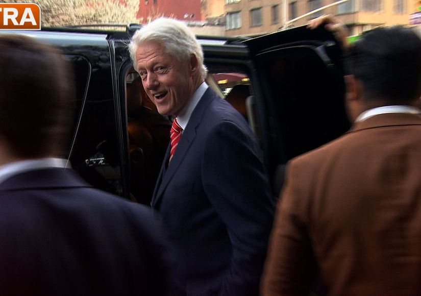 Bill Clinton is 'Ecstatic' Over Daughter Chelsea's Pregnancy