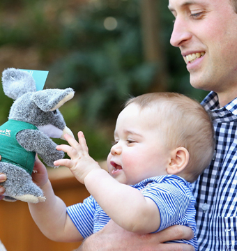 Prince George looked adorable as usual during a trip to the zoo.