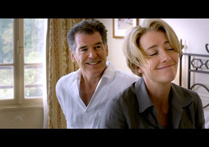 Exclusive Trailer! Pierce Brosnan and Emma Thompson Take a 'Love Punch'