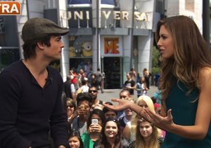Ian Somerhalder on 'Vampire Diaries,' People's Most Beautiful, and Climate…