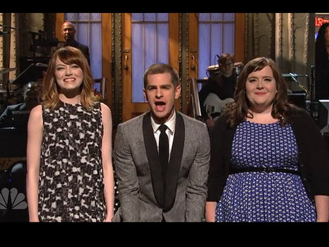 'Amazing Spider-Man' Andrew Garfield Hosts 'SNL': Best Moments