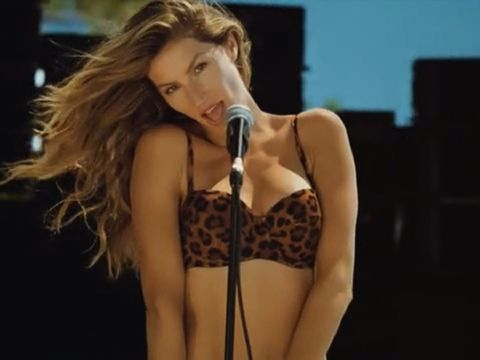 Supermodel Gisele Bündchen Covers Blondie for H&M Campaign