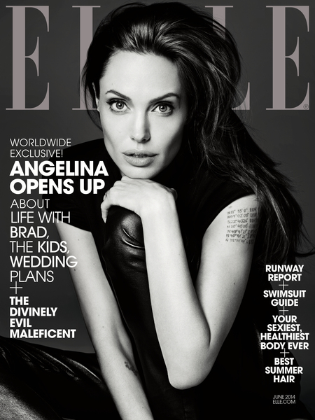 ELLE June Cover EMBARGOED UNTIL 5.7.14