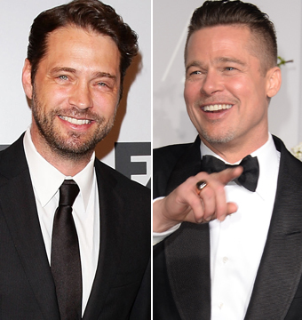 Video! Jason Priestley Tells Hilarious Story About Rooming with Brad…