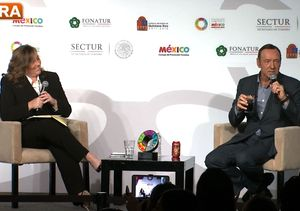 Kevin Spacey Meets the President of Mexico, Teases Season 3 of 'House of Cards'