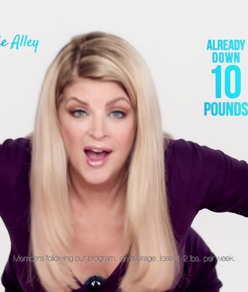 Kirstie Alley Has Dropped 10 Pounds and Is Going for Round 2 with Jenny Craig