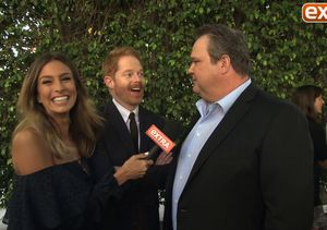 'Extra' Hangs with 'Modern Family' Cast at Mitch and Cam's Wedding!