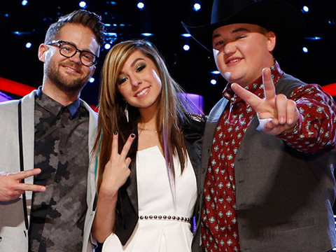 'The Voice' Finale Recap: Adam Declares Christina Grimmie the Winner