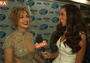 'American Idol' Finale! 'Extra' Hangs with J.Lo, Keith Urban and Winner Caleb…
