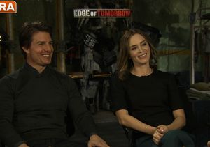 Emily Blunt on Kicking Tom Cruise's Butt... Over and Over and Over Again