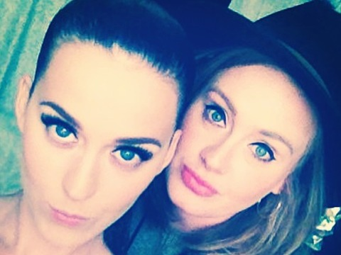 Katy Perry Shares Rare Pic of Adele
