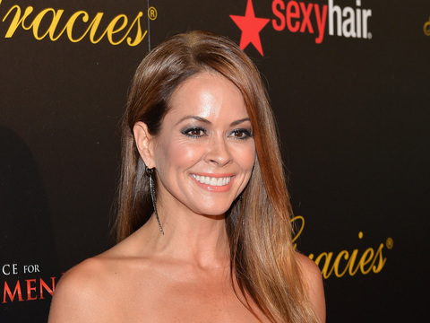 Brooke Burke-Charvet Models Her New Fitness Line