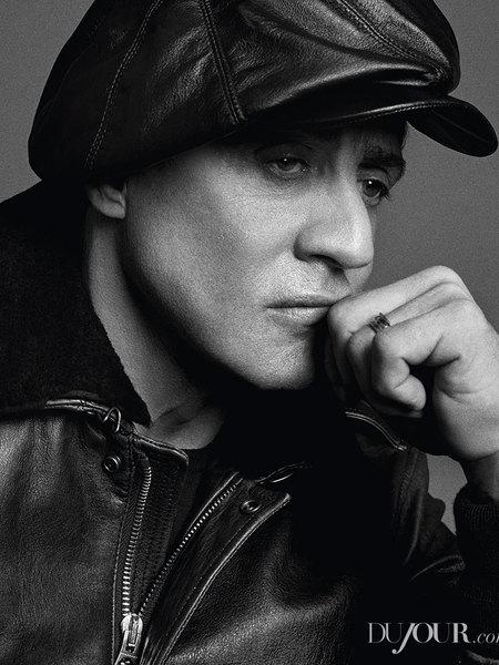 DuJour Magazine June 2014 inside page Sylvester Stallone 5