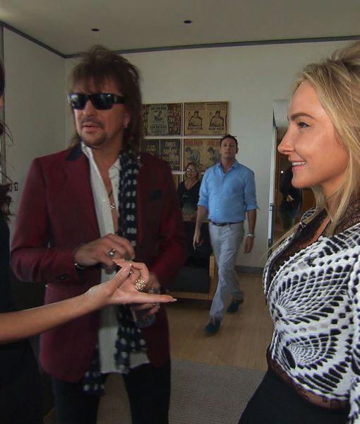 Hanging with Rocker Richie Sambora and Designer Nikki Lund