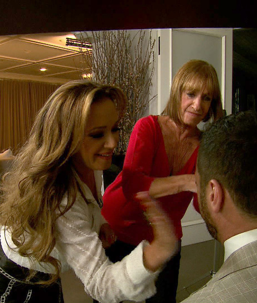 Leah Remini and Her Mom Slap Tony Dovolani, Talk About Sex and Tattoos