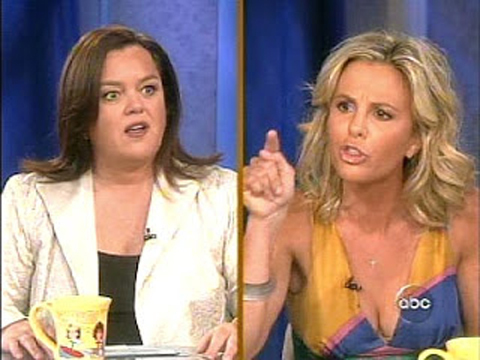 'View' Feud: Rosie O'Donnell Hits Back at Elisabeth Hasselbeck!