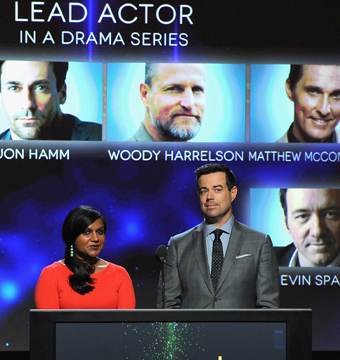 Mindy Kaling and Carson Daly made the early-morning Emmy nominations…