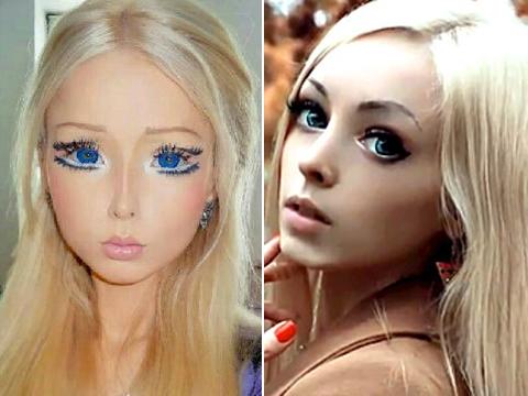 Human Barbie Vs Human Ken Valeria Lukyanova Dissed By