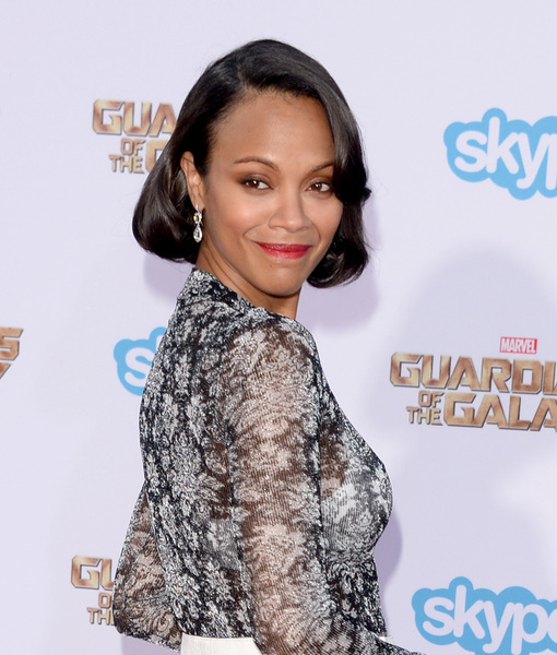 It's True! Zoe Saldana Is Pregnant with First Child