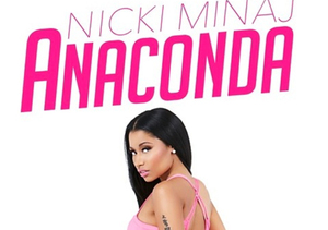 Nicki Minaj Posts Cheeky NSFW 'Anaconda' Album Cover!