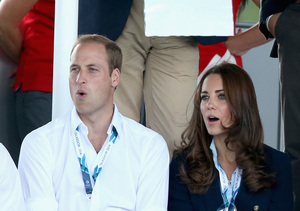 Prince William and Kate Middleton watched a hockey match between Scotland and…